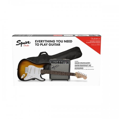 Fender Squier Strat Pack SS Brown Sunburst