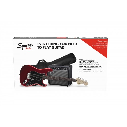 FENDER AFFINITY SERIES STRATOCASTER HSS PACK CANDY APPLE RED 15G