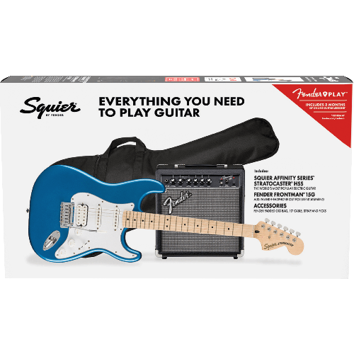 AFFINITY SERIES STRATOCASTER HSS PACK