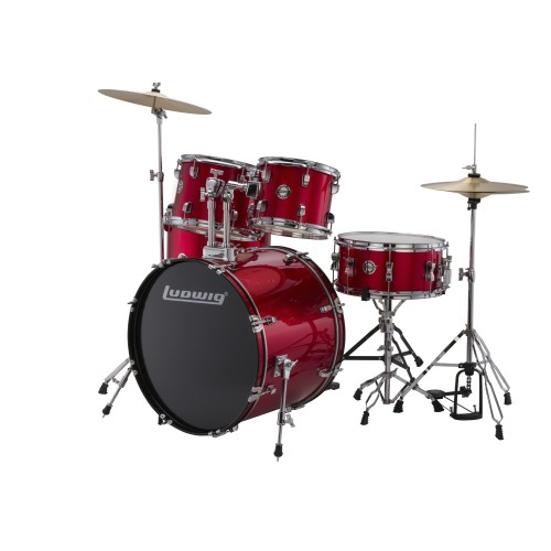 LUDWIG ACCENT RED