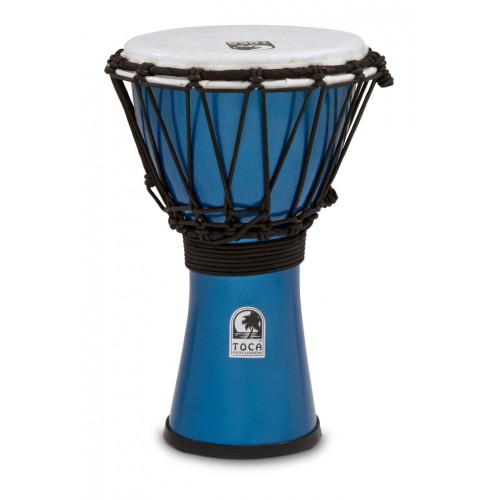 Djembe Toca Freestyle Metallic Blue