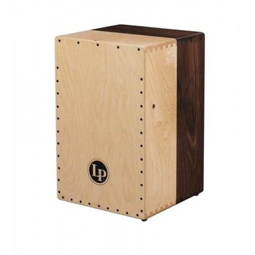 CAJON LP AMERICANA 2-VOICE WIRE SOLID BLACK WALNUT & SOLID HARD MAPLE