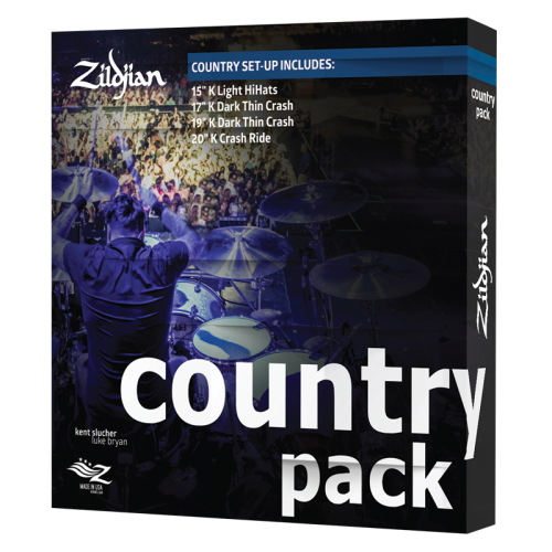 ZILDJIAN COUNTRY MUSIC PACK