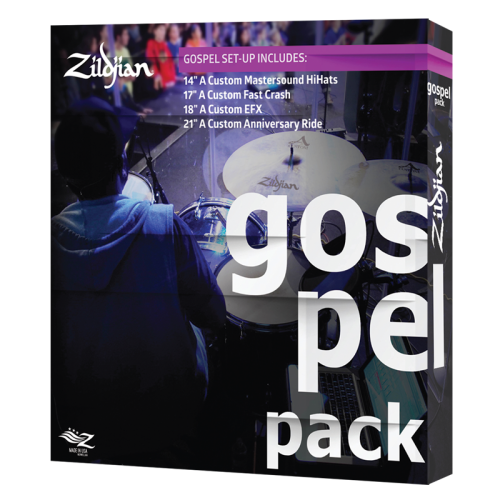 ZILDJIAN GOSPEL MUSIC PACK