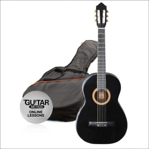 Pack de guitarra Ashton SPCG44BK
