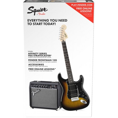 PACK AFFINITY STRATOCASTER