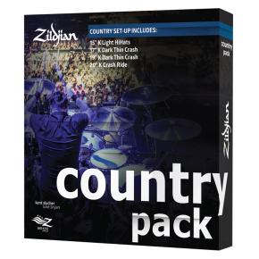 ZILDJIAN K COUNTRY PACK